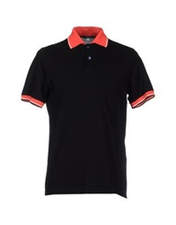 Cruciani Polo Shirts Black