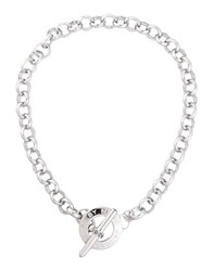 Marc By Marc Jacobs Necklaces Silver