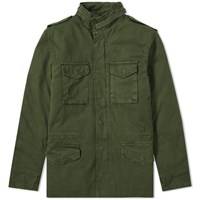 Alpha Industries Vintage M 65 Cw Jacket Green