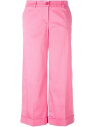 P.A.R.O.S.H. 'Colty' Trousers Pink And Purple