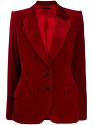 Tom Ford Two Button Blazer Red