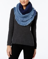 Steve Madden Made In The Shade Infinity Scarf Navy