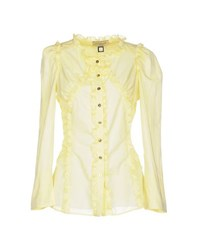Roccobarocco Shirts Shirts Women Yellow