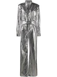 Off White Racing Metallic Effect Jumpsuit 60