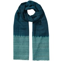 East Ombre Border Scarf Ensign