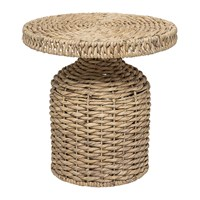 Bloomingville Camo Side Table Water Hyacinth