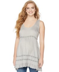 Wendy Bellissimo Maternity Sleeveless Ruffled Tunic