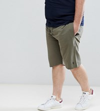 French Connection Plus Jersey Shorts Green