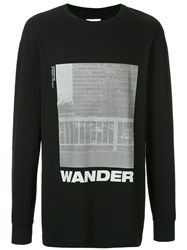 Song For The Mute Wander Tower Sweatshirt Black