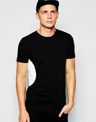 Han Kjobenhavn Han T Shirt With Side Circle Print Black