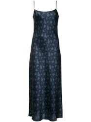 Vince Slip Dress Blue