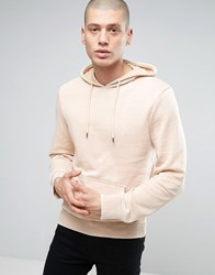 Another Influence Burn Out Hoodie Beige