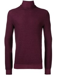 Paolo Pecora Turtleneck Jumper Red