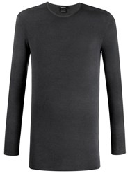 Avant Toi Crew Neck Sweatshirt Black