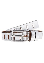 Tom Tailor Denim Belt Silver Metallic
