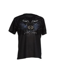 Dirk Bikkembergs Topwear T Shirts Men Black