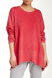 Central Park West The Butler Pullover Red