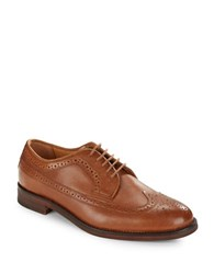 Polo Ralph Lauren Moseley Leather Oxfords Brown