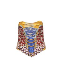 Mary Katrantzou Topwear Tube Tops Women Red
