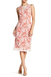 Erin Fetherston Minuet Embroidered Sleeveless Dress White