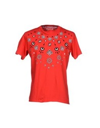 Pagano T Shirts Red