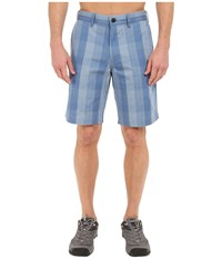 The North Face The Narrows Plaid Shorts Moonlight Blue Plaid Men's Shorts