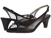 David Tate Prom Black Women's Sling Back Shoes
