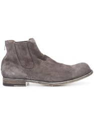 Officine Creative Bubble Boots Men Calf Leather 45 Grey