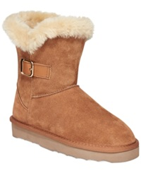 Style And Co. Tiny Cold Weather Booties Only At Macy's Women's Shoes Chestnut