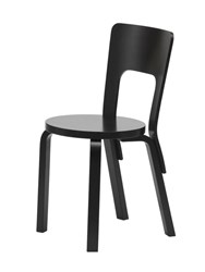 Artek Chair 66 Black