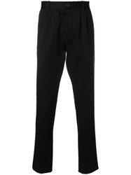 Ports 1961 Casual Long Trousers Black