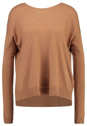 Mbym Feline Jumper Golden Brown