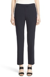 Lafayette 148 New York Women's 'Irving' Stretch Wool Pants Navy