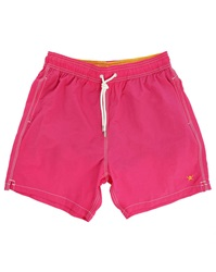 Hackett Fuchsia Solid Volley Swim Shorts