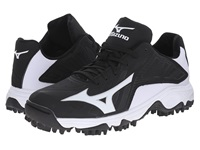Mizuno 9 Spike Advanced Erupt 3 Low Black White Men's Cleated Shoes