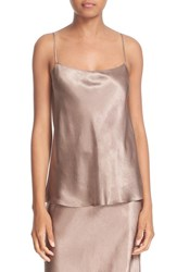Vince Women's Satin Camisole Coffee