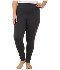 Yummie Tummie Plus Size Louise Leggings Asphalt Women's Casual Pants Black