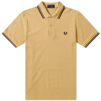 Fred Perry Reissues Original Twin Tipped Polo Brown
