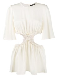Ellery Cut Out Sides Top Nude Neutrals
