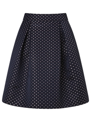 Alice By Temperley Somerset By Alice Temperley Sail Boat Jacquard Skirt Blue