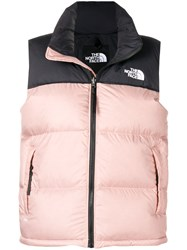 The North Face Padded Gilet Pink And Purple