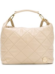 Moncler 'Felicienne' Backpack Nude And Neutrals