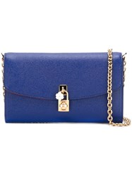 Dolce And Gabbana Clutch Blue