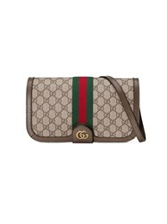 Gucci Ophidia Gg Messenger Bag Brown