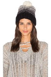 Michael Stars Seeded Ombre Beanie Black
