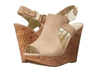 Carlos By Carlos Santana Malor Sand Beige Women's Wedge Shoes Tan