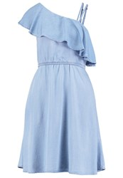 Noisy May Nmnesli Denim Dress Light Blue Denim Light Blue Denim