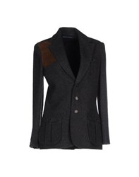Ralph Lauren Suits And Jackets Blazers Women Steel Grey