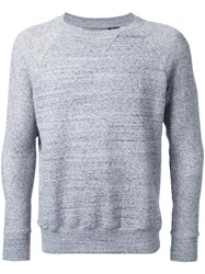Biro Crew Neck Sweatshirt Grey