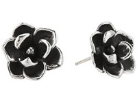 King Baby Studio Magnolia Stud Earrings Silver